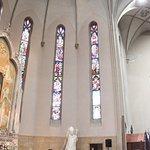 Le vetrate e il quadro di Santa Valeria, Vitale, Gervaso e Protaso