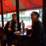 The waiters were friendly, happy memories