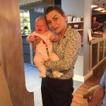 The lovely co-owner Ramona with baby Ramona!!!