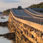 The famed Cribstone Bridge (google it!)