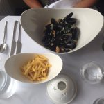 The best ever mussles and fries!