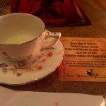Liquor in a tea cup