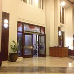 Classic hotel with jati wood furniture and they will treat you warmly. I love their staff, so fr