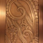 detail of Art Deco elevator