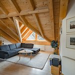Wohnecke Dach-Appartment