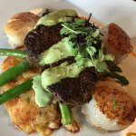 Ricos special - filet and scallops with cheese hashbrowns OMG!