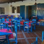the open air dining room, breakfast,Lunch & Dinner is being served here