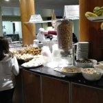 Desayuno Confiteria del hotel