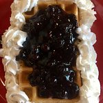 Bueberry Waffles