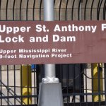 Lock and Dam Sign
