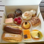 Cakes from bakery