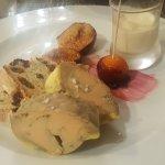 Fois gras Maison au torchon  Raviole crème de truffe  Un délice 😍