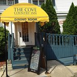 The Cove dining room street entrance