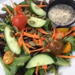 The Cove side salad with sesame dressing