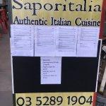 Photo de Saporitalia