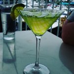A key lime martini to top things off!