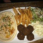Combo falafel plate