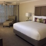 separate bedroom in the DELTA section suite