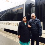 The golden pass line from Montbovon to Montreux in Switzerland. Dr. Javed Rasheed