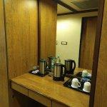 Complementary Tea & Coffee amenities and Tea Maker