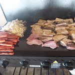 BBQ Lunch on the island