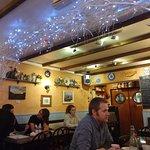 inside of the cafe