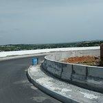 Approach road to Yadgirigutta tempe