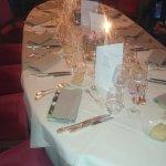 table pour le diner