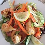 Prawn, Calamari, Avocado Salad.... (would go back for more any day!!)