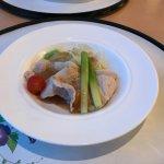 Kamifurano pork with vegetable salad