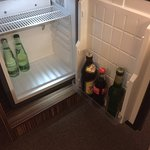 Minibar ohne Snacks