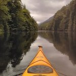 Kayaking on the caledonian canal