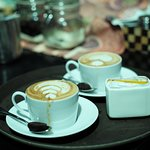 Fresh Ground Balines Espresso Cappucino