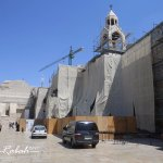 Exterior renovation works at the Church of Nativity