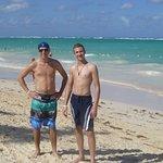 plage de punta cana avec nos fistons