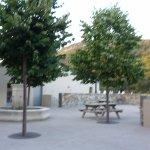 place de la fontaine dans le quartier des terrasses