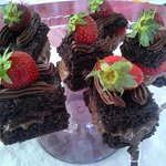 Cikolatalı pasta