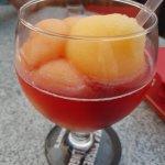 Gorgeous Bellini cocktail