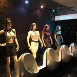 Men's washroom in the 24 hr restaurant