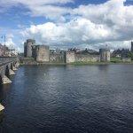 Bridge to King John's Castle