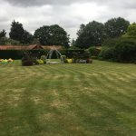 Wedding anyone??? Glorious Gardens but mind the Bouncy Castle...