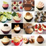 Just some of the delicious freshly baked cupcakes we have in our range