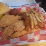 Fried Catfish to Go...lots of catfish