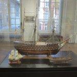 maquette de bateau taille réel, trés réaliste avec une belle lumière
