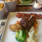 Mixed grill van vlees