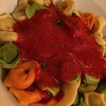 Tortellinni with Red Sauce