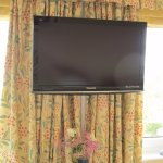 TV for guests in upstairs double room