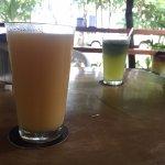 Natural de mango y limón con hierbabuena!!