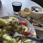 Evening dinner at the Athenian Grill in Suisun City - the view and the food didn't disappoint!