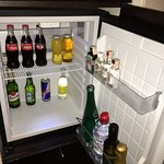 Grand Hotel River View Bratislava - Junior Suite - poorly stocked minibar